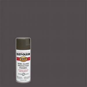 rust oleum stops rust 12 oz gloss anodized bronze spray With best brand of paint for kitchen cabinets with ford truck stickers