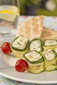 Vegetarisches Zum Grillen : zucchini k se spie e small dish grillen rezepte ~ A.2002-acura-tl-radio.info Haus und Dekorationen
