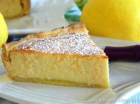 aux d 233 lices de g 233 raldine tarte ricotta citron