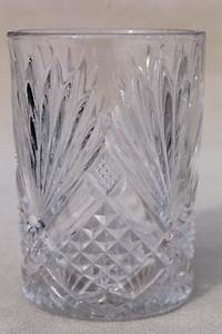 collection of antique vintage pressed pattern glass