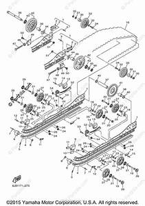 Yamaha Snowmobile 2010 Oem Parts Diagram For Track