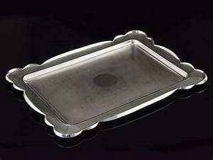 Sterling silver letter tray birmingham 1922 for Silver letter tray
