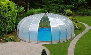 Pool Dach Rund : schwimmbadd cher und pool berdachungen g nstig ab ~ Watch28wear.com Haus und Dekorationen