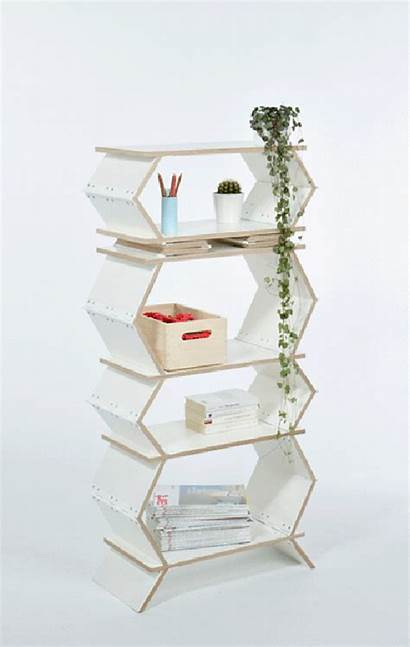 Bookshelf Foldable Stockwerk Designstack Meike Harde German