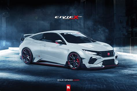 2017-2018 Civic Type R Coupe Concept Envisioned!