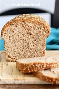 100% Whole Wheat Bread Recipe