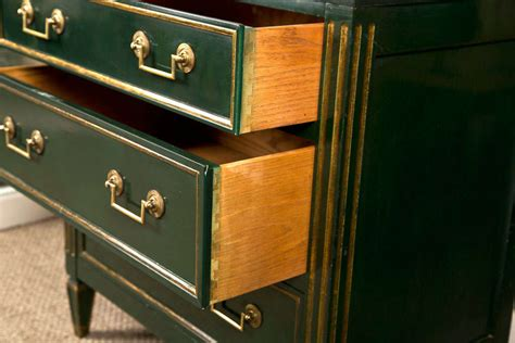 1940s kitchen cabinets directoire style green chest by jansen at 1stdibs 1029