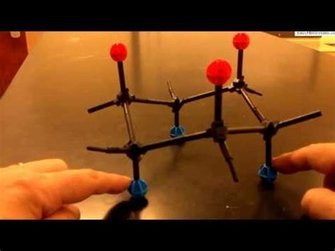 Cyclohexane Chair Conformation Model Kit by Cyclohexane Ring Flip With Molecular Models
