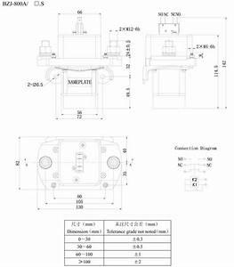 Dc Contactor Bzj-800a