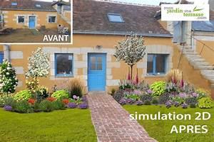 Terrasse En Anglais : am nager un jardin style cottage anglais monjardin ~ Preciouscoupons.com Idées de Décoration