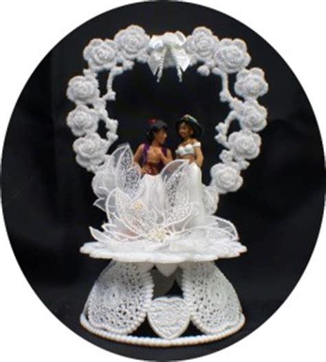 aladdin jasmin wedding cake topper lot glasses knife