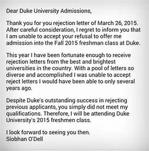 Going Viral 17year Old Student Rejects A University's Rejection Letter