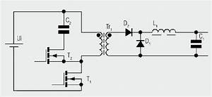 The forward converter for Clampingcircuit1jpg