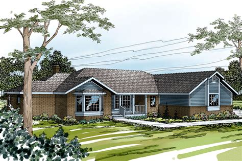 Ranch House Plans  Grayling 10207  Associated Designs