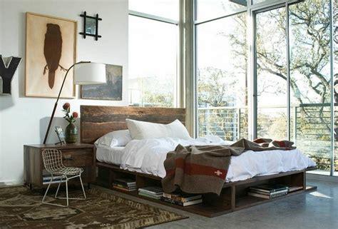 chambre style industrielle chambre décor industrielle