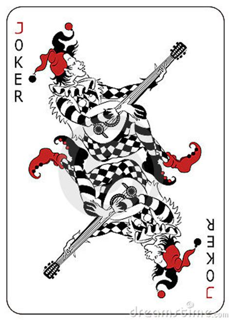 joker playing card royalty  stock images image