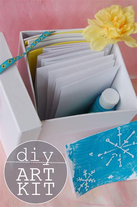 Card Making Gift Kit {homemade Gift For Kids}