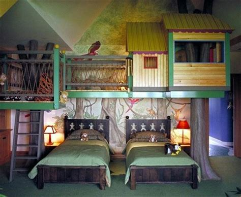 Awesome Kid Bedrooms by Awesome Bedrooms Tree House Room Dump A Day