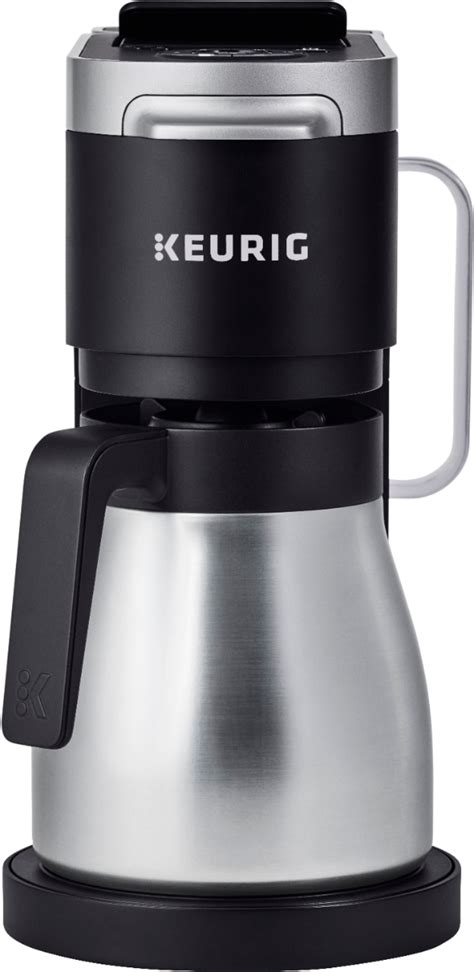 A pod is coffee or tea that is sealed in a paper filter, often looking like tea bag. Keurig - K-Duo Plus 12-Cup Coffee Maker and Single Serve K ...
