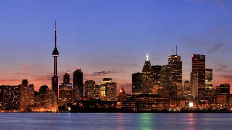 canada night landscape nature hd city