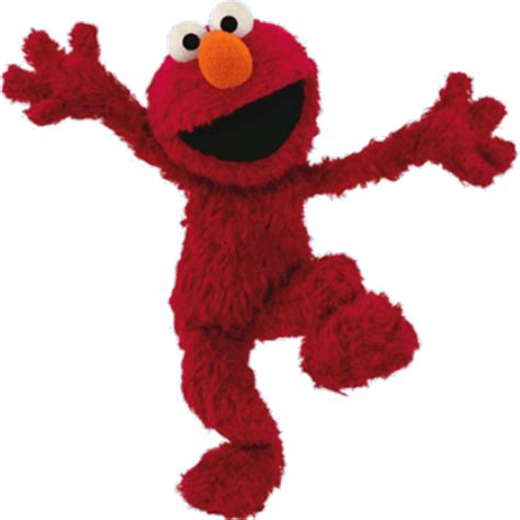 sesame street elmo sitting transparent png stickpng