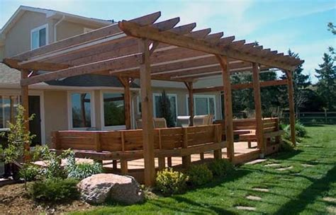 How To Build Covered Porch by How To Build Covered Patio Roof Ayanahouse