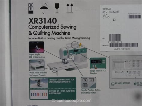 brother xr computerized sewing machine