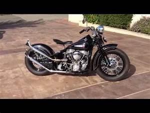 Bobber Harley Davidson : 1948 harley davidson panhead bobber for sale youtube ~ Medecine-chirurgie-esthetiques.com Avis de Voitures