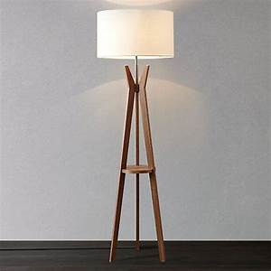 walnut tripod floor lamp uk gurus floor With tesco tripod wooden floor lamp dark wood black shade