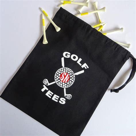 personalized golf tee bag  frozen fire notonthehighstreetcom
