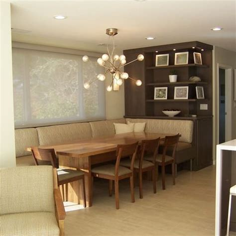 fabric covered banquette design ideas pictures remodel
