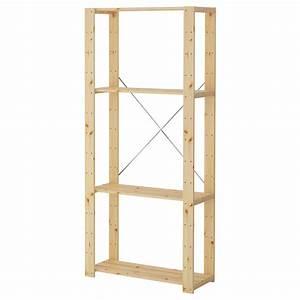 étagère échelle Ikea : rangement bouteille ikea great hejne bois tendre largeur ~ Premium-room.com Idées de Décoration