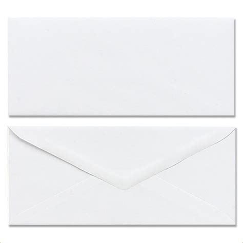business envelope template outline templates