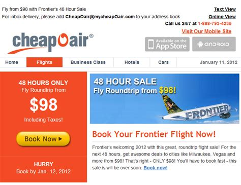 Frontier Airlines Deals Today / Kohls In Store Printable