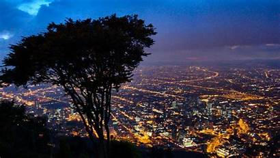Colombia Landscape Bogota Wallpapers Background Night Landscapes