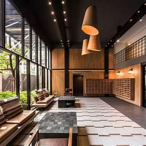 Modern Lobby Benches — STABBEDINBACK Foyer : Hotel Lobby ...