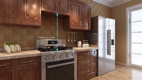 Range Cabinet by How To Install A Fotile Powerful Cabinet Range