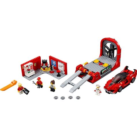 Ferrari ultimate garage (гараж ferrari). LEGO Speed Champions 75882 Ferrari FXX K a vývojové centrum | 4kids