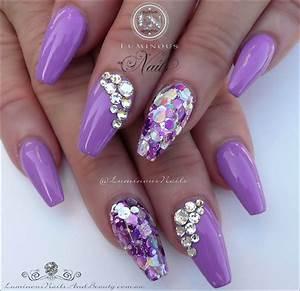 Ongles Pinterest : purple nails google search nails pinterest ongles ongles mauves et ongle gel ~ Melissatoandfro.com Idées de Décoration