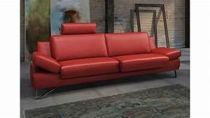 Couch 3 Sitzer Leder : sofa 3 sitzer finest in leder kaminrot mit funktionen ~ Bigdaddyawards.com Haus und Dekorationen