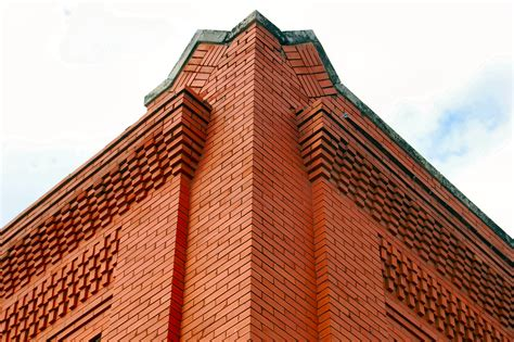 Corbeled Brickwork by Behold The Humble Brick 1 Is A Doorstop 1 000 Are