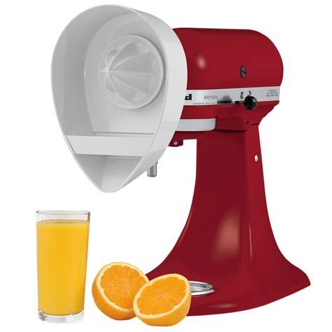 Kitchenaid Juicer Attachment by Kitchenaid Je Citrus Juicer Attachment For Kitchenaid