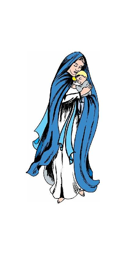 Mary Clipart Clip Blessed Virgin Mother Visitation