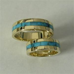 mens turquoise wedding rings jewelry With southwest wedding rings