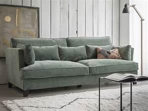 Salon Vert De Gris : le salon passe au vert joli place ~ Melissatoandfro.com Idées de Décoration