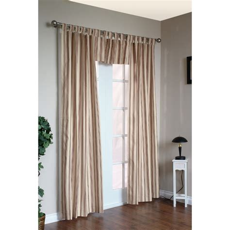 Thermal Lined Curtains Australia by Thermalogic Weathermate Stripe Curtains 80x72 Quot Tab Top