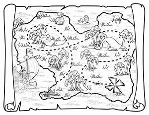 Pirate Map by umetnica on DeviantArt