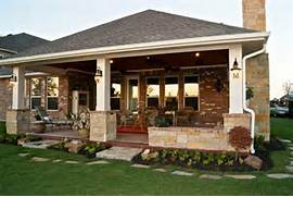 Patio Home Designs Texas by Patio Cover With Fireplace In Telfair Texas Custom Patios