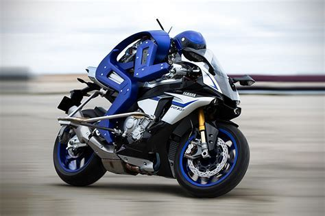 Yamaha Motor Developed a Humanoid That Rides a Super Bike