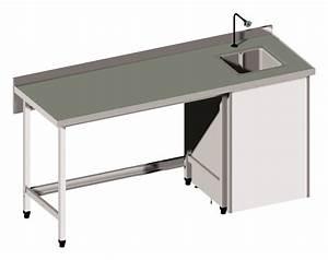Mobilier De Laboratoire : table l ve humide lcca fabricant de mobilier de laboratoires et hopitaux ~ Teatrodelosmanantiales.com Idées de Décoration
